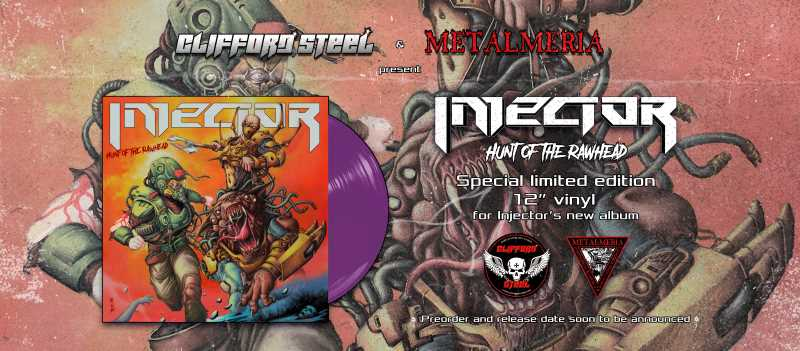 "Injector - ""Hunt Of The Rawhead"" Vinilo"