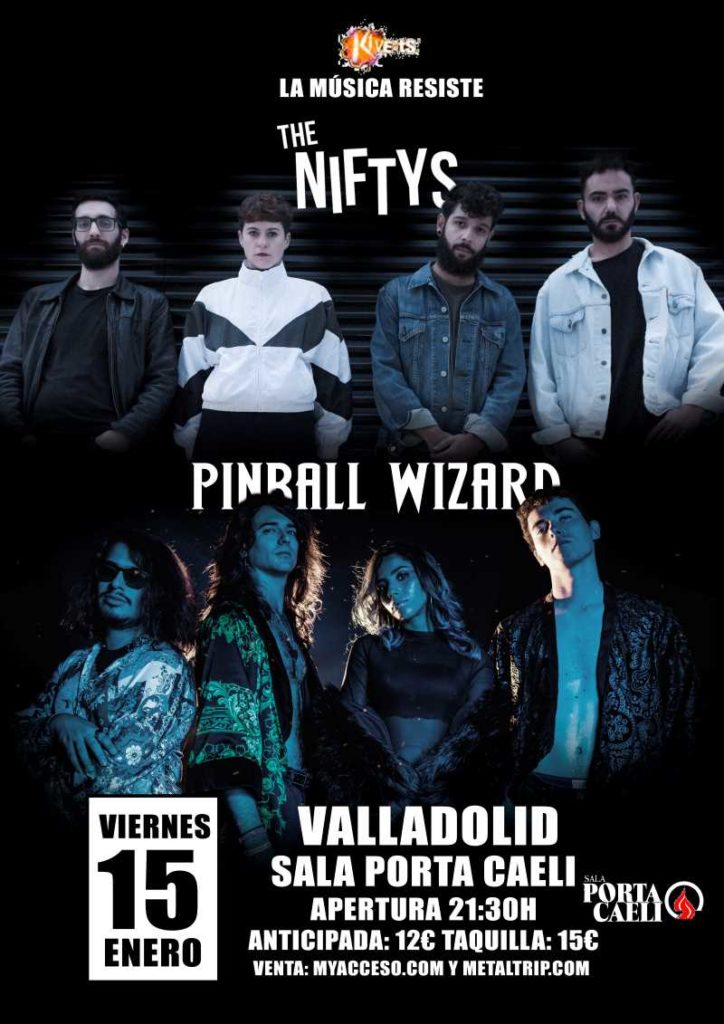 The Niftys & Pinball Wizard en Valladolid