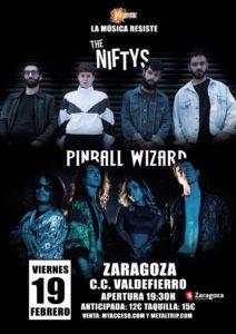 The Niftys & Pinball Wizard en Zaragoza
