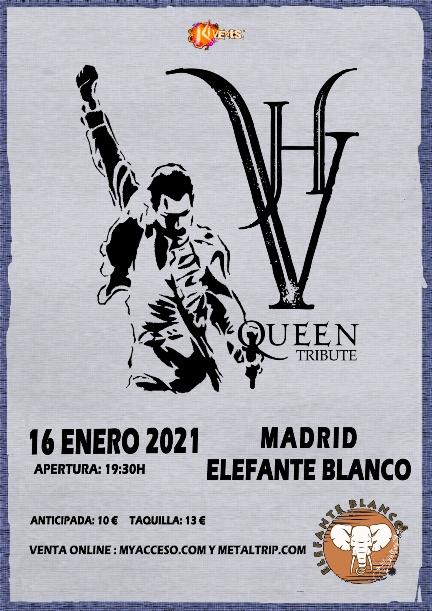 VH Queen Tribute en Madrid