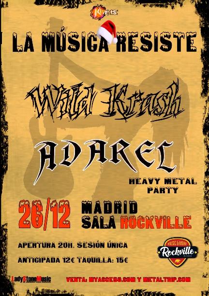 Heavy Metal Party: Adarel y Wild Krash
