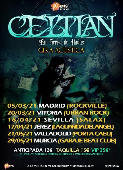 """Celtian - """"En Tierra de Hadas – Gira Acústica"""""""