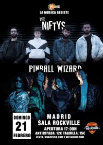 Pinball Wizard y The Niftys en Madrid