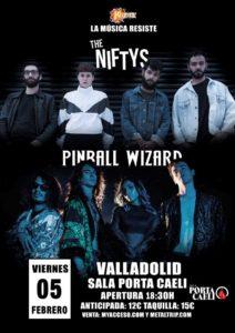 Pinball Wizard y The Niftys en Valladolid
