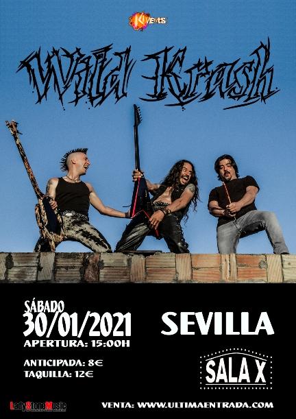 Wild Krash en Sevilla