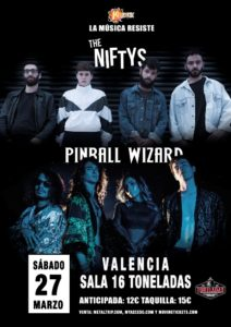 Pinball Wizard y The Niftys en Valencia