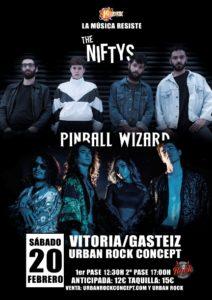 The Niftys + Pinball Wizard en Vitoria
