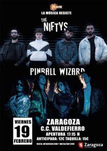 The Niftys + Pinball Wizard en Zaragoza