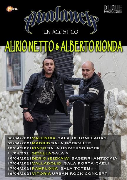 Alberto Rionda y Alirio Netto Tour