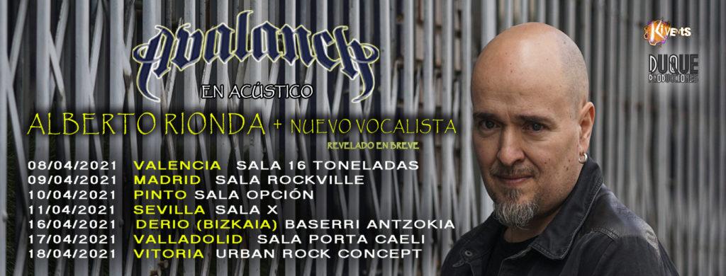 Alberto Rionda (Avalanch) Tour