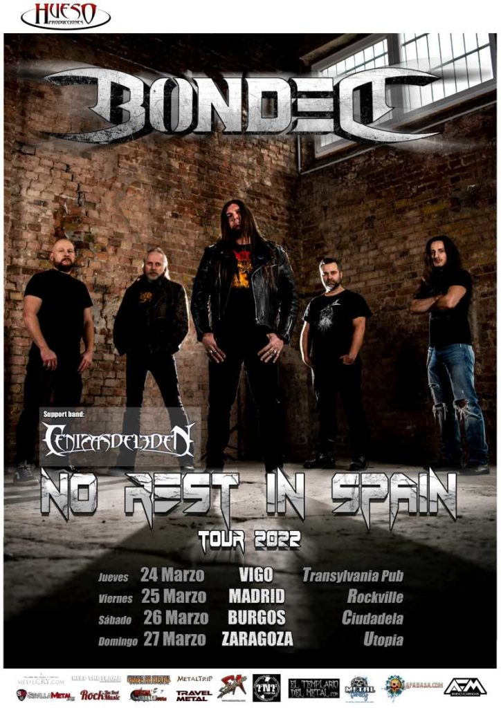 """Bonded - """"No Rest In Spain Tour 2022"""""""