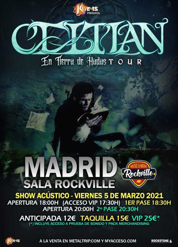 Celtian en Sala Rockville (Madrid)