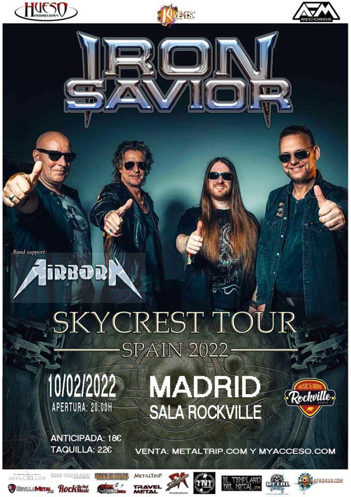 Iron Savior en Madrid