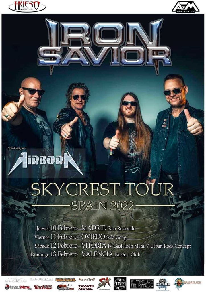 """IronSavior - """"Skycrest Tour Spain 2022"""""""