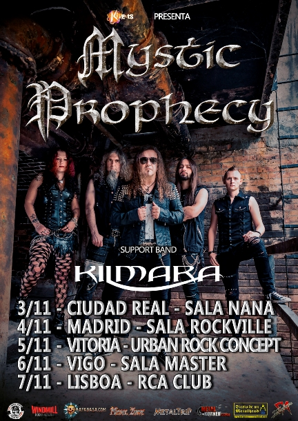 Mystic Prophecy - Iberian Tour
