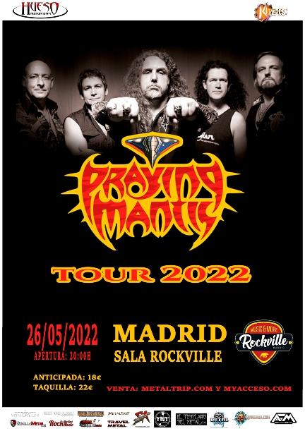 Praying Mantis en Madrid