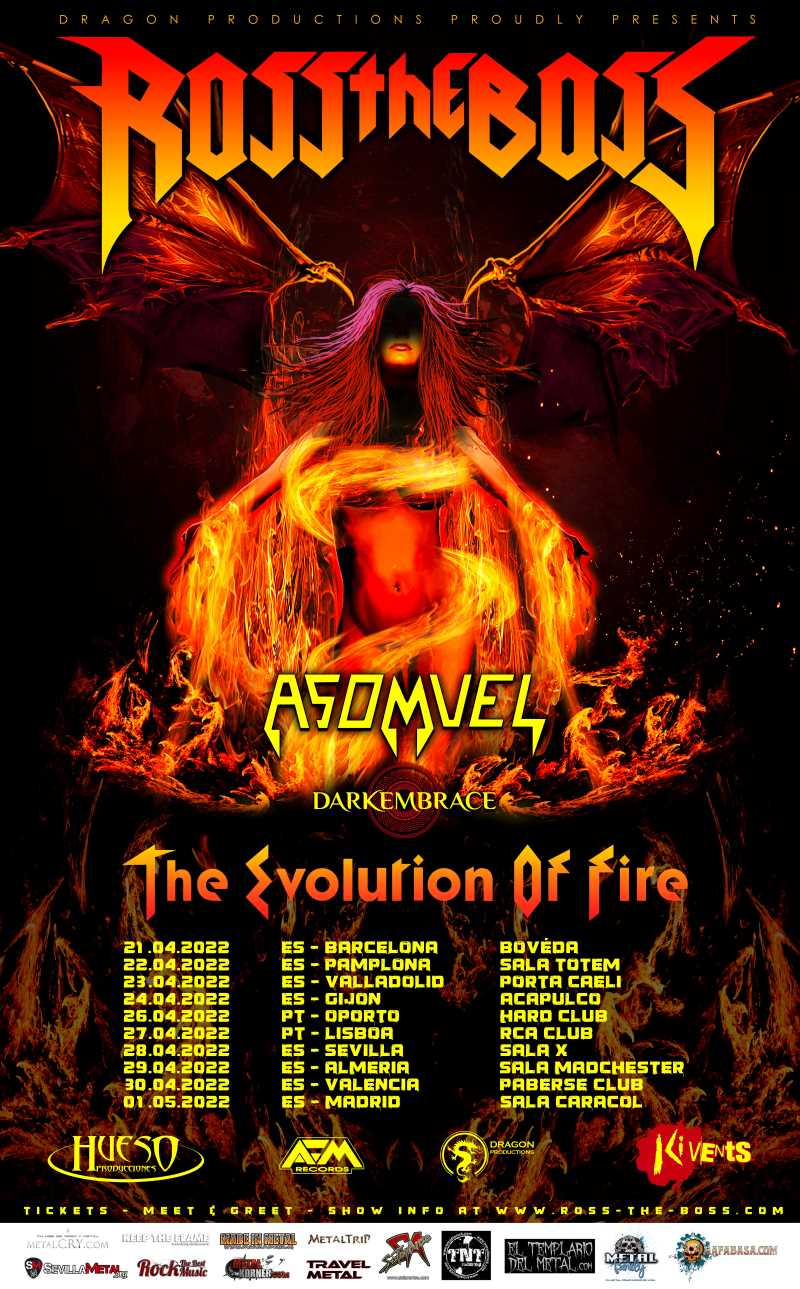 """Ross The Boss - """"The Evolution Of Fire Tour"""""""