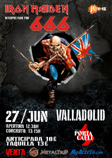 666 Iron Maiden en Valladolid