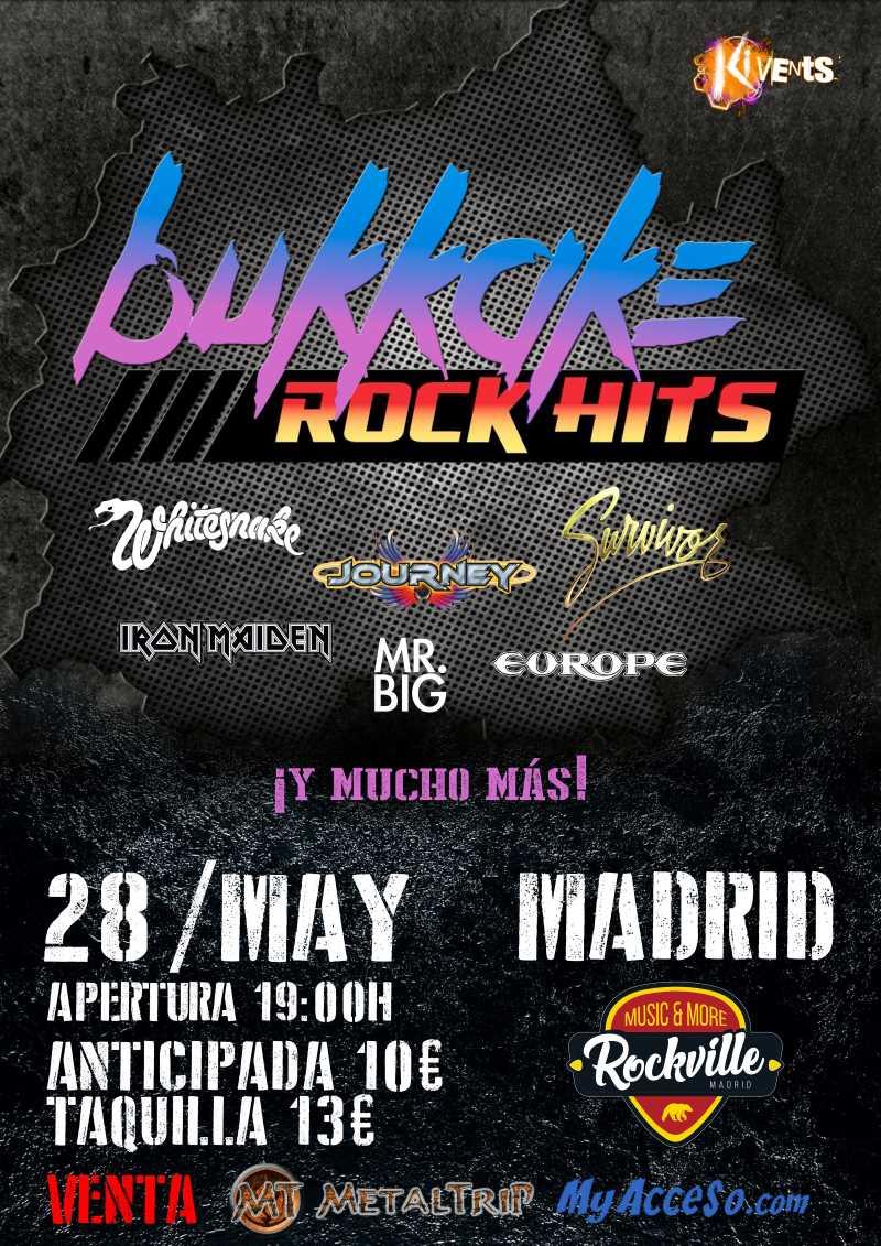 Bukkake Rock Hits en Madrid