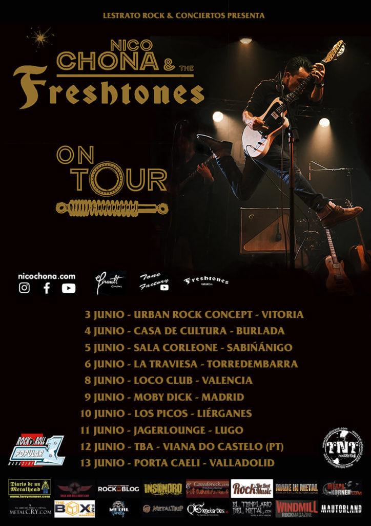 Nico Chona & The Freshtones Old Western Star Tour