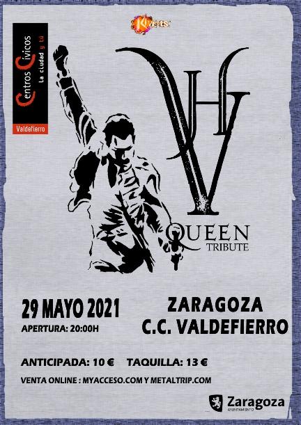 VH Queen Tribute en Zaragoza