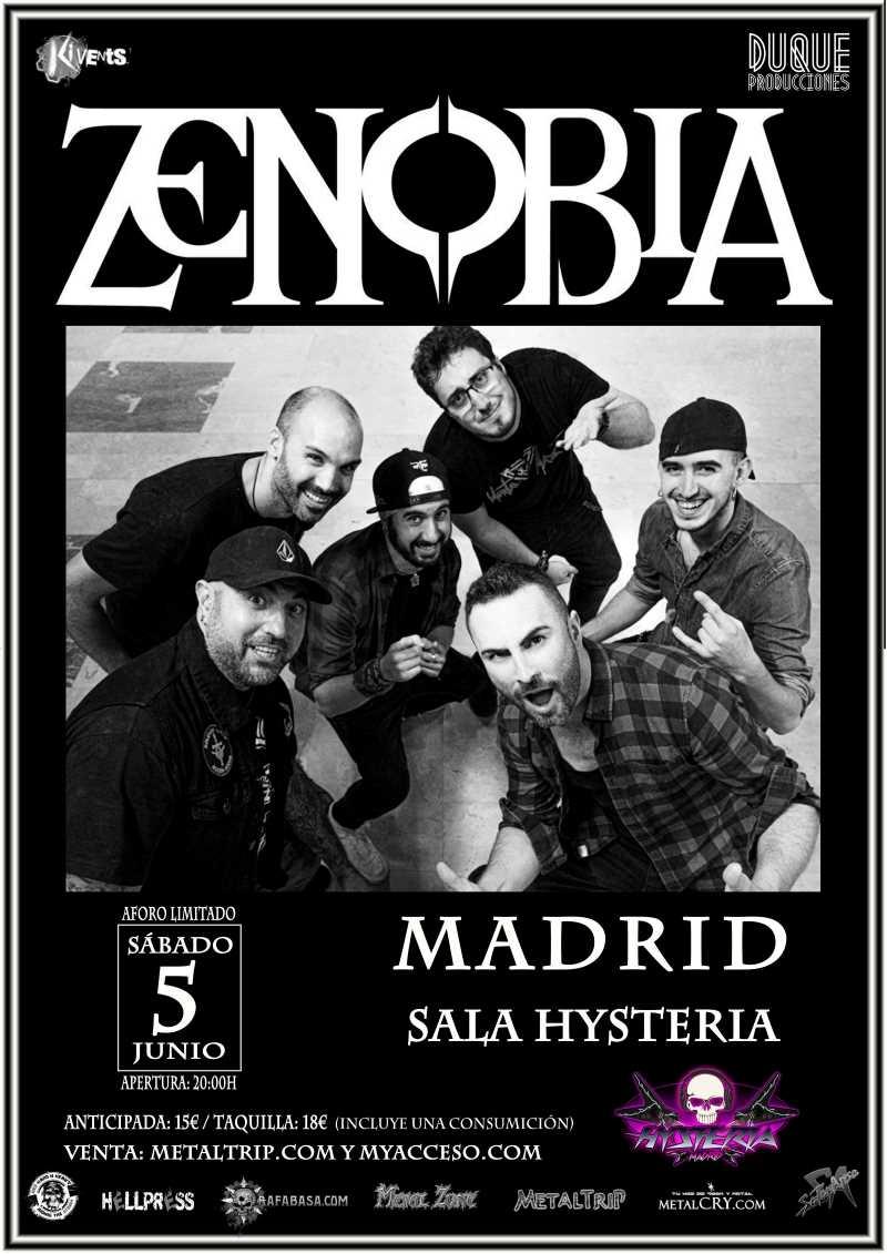Zenobia en Madrid