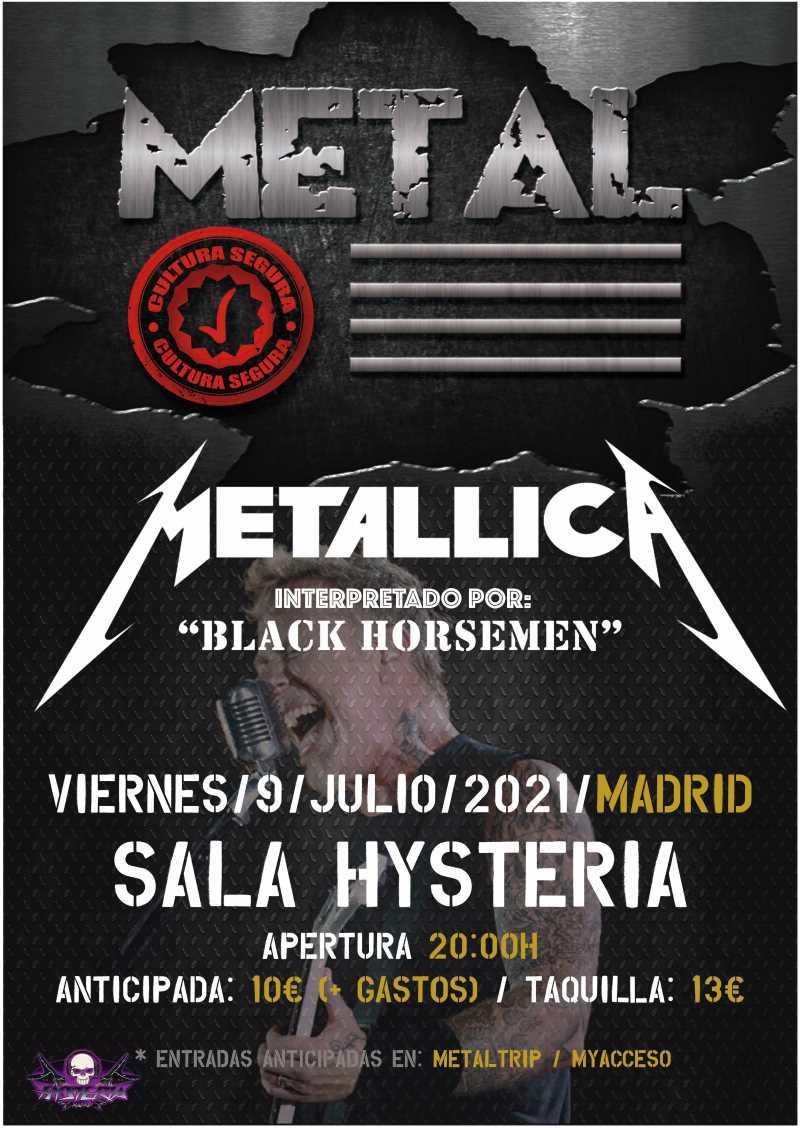 Black Horsemen en Hysteria (Madrid)