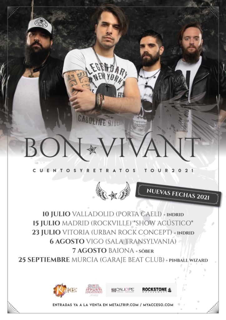 """Bon Vivant - """"Cuentos y Retratos Tour 2021"""""""