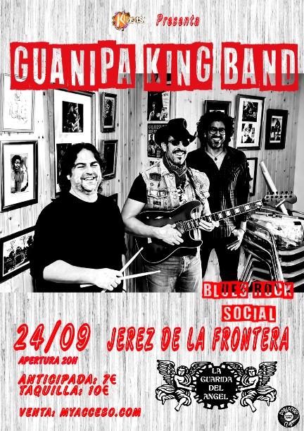 Guanipa King Band en Jerez de la Frontera