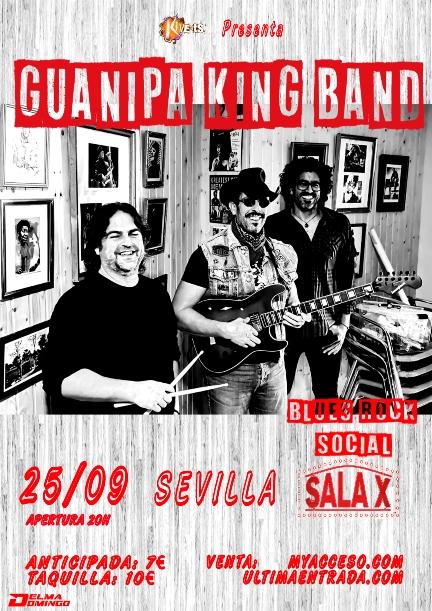 Guanipa King Band en Sevilla