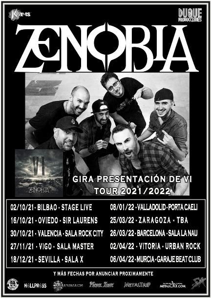 """Zenobia - Gira Presentación de """"VI"""""""