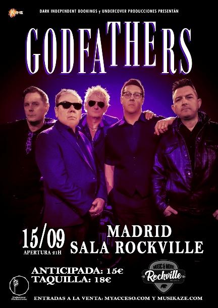 The Godfathers en Madrid