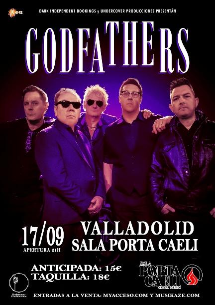 The Godfathers en Valladolid