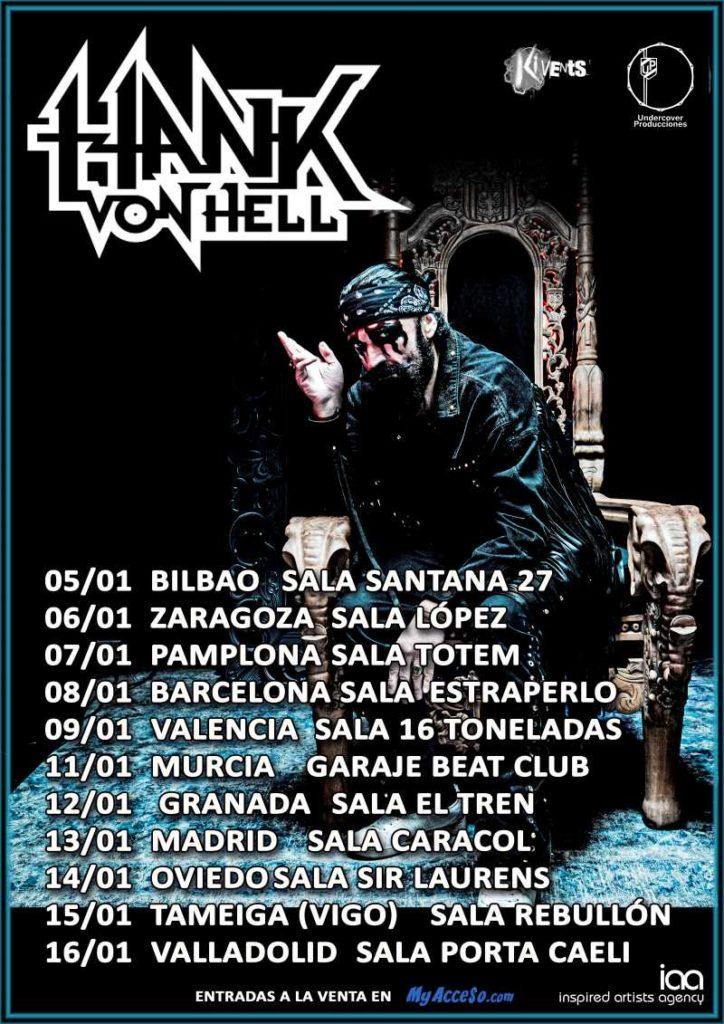 Hank Von Hell - Spanish Tour 2022
