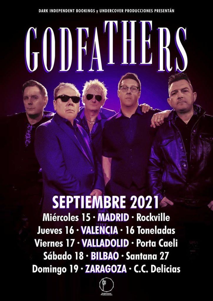 "The Godfathers - ""Spanish Tour September2021"""