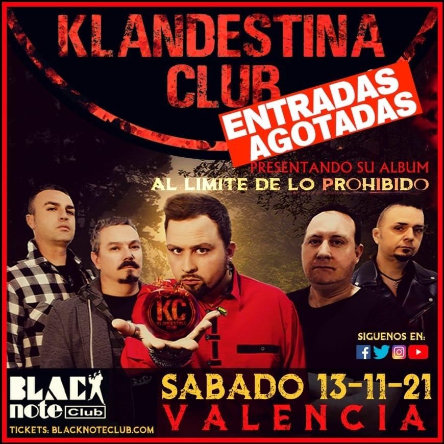 Klandestina Club en Black Note (Valencia)