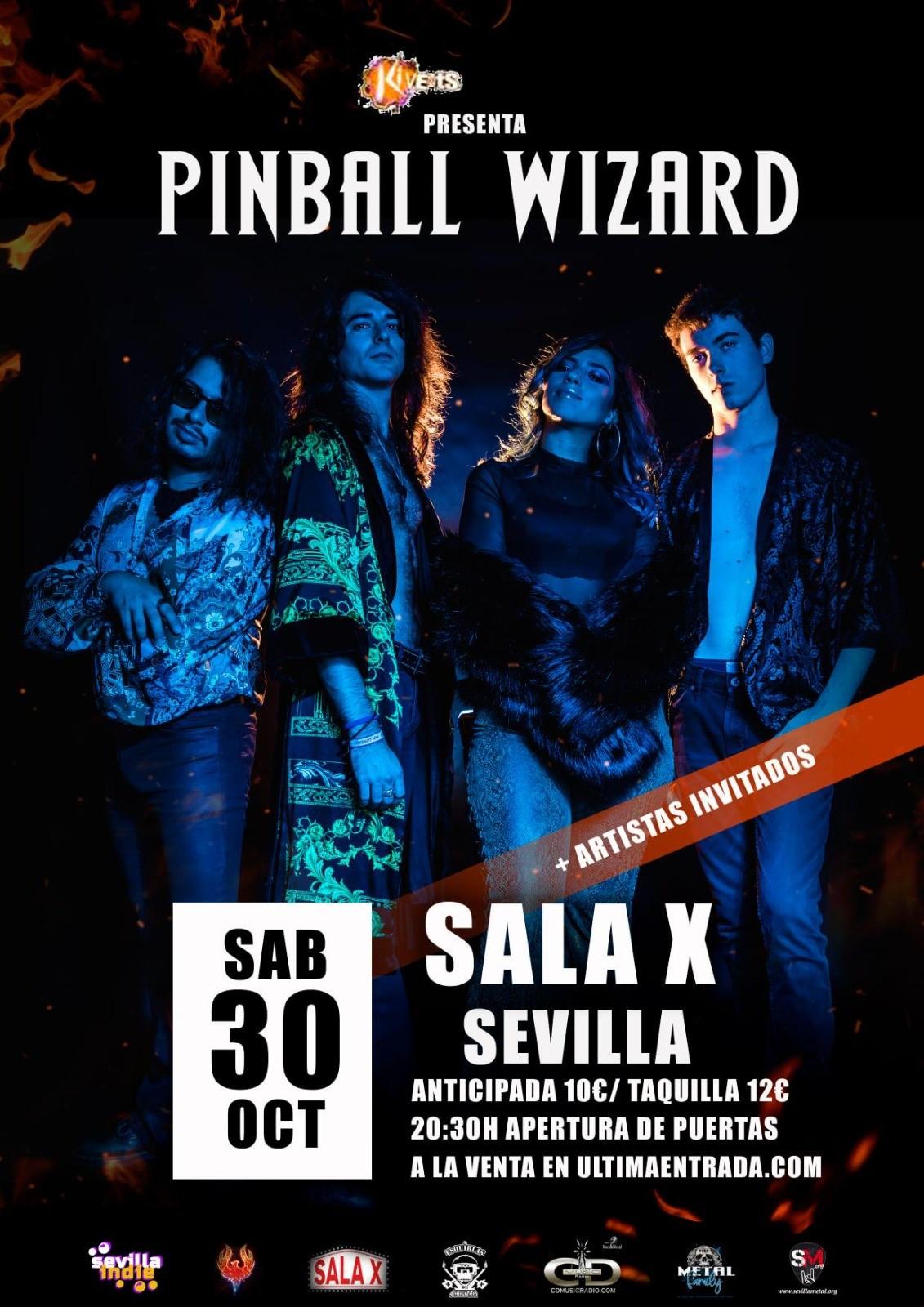 Pinball Wizard en Sevilla