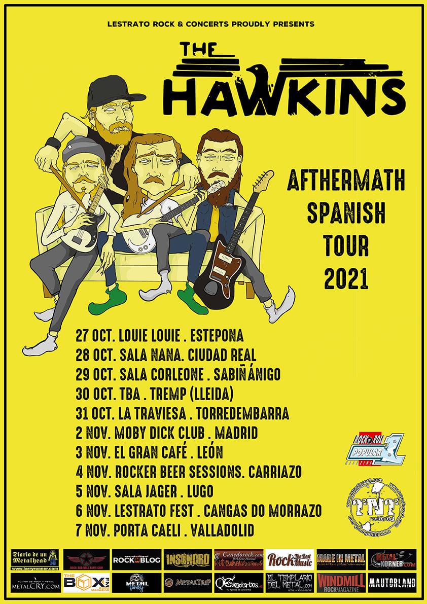 "The Hawkins - ""Afthermath Spanish Tour 2021"""