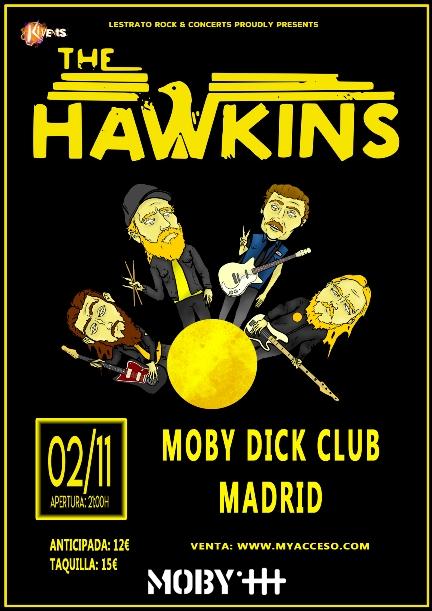 The Hawkins en Madrid
