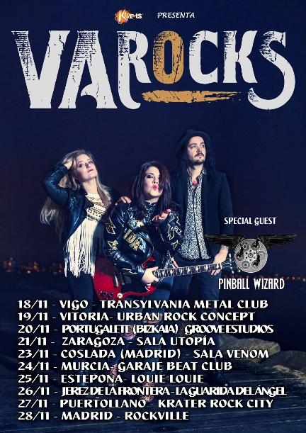 VA Rocks con Pinball Wizard Tour 2021